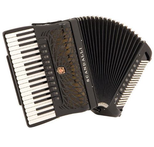 Scandalli - Air III - Available Accordions